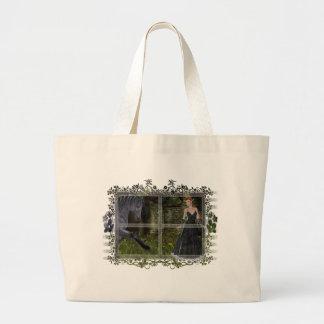 'Old Friends' D2 ~ An Elf & Black Horse Series Tote Bag