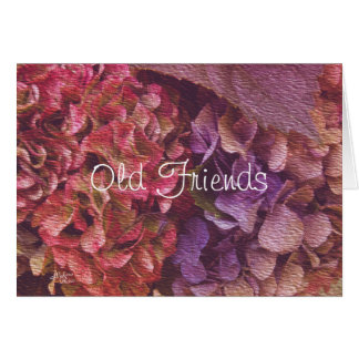 Old Friends Tapestry Hydrangeas   make any occasio Card