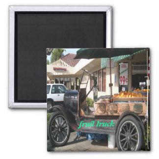 old fruit truck, magnet