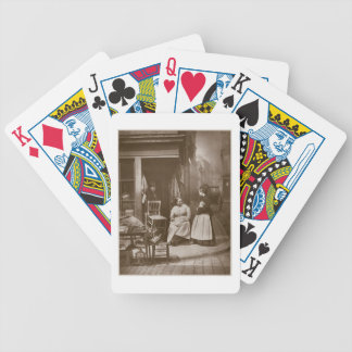 Old Furniture, from 'Street Life in London', 1877- Bicycle Playing Cards