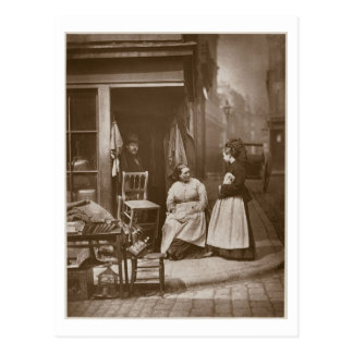 Old Furniture, from 'Street Life in London', 1877- Postcard