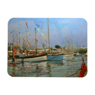 Old Gaffers Yarmouth Isle of Wight 2011 Rectangular Photo Magnet