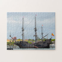 Old Galleon Ship Florida. Jigsaw Puzzle