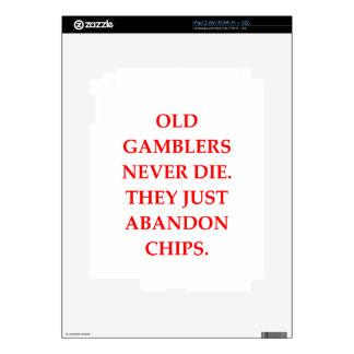 old gambler skins for iPad 2