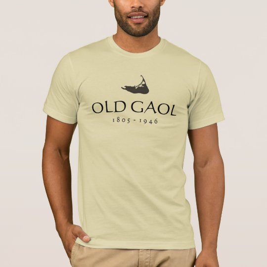 Old Gaol, Nantucket Map T-Shirt