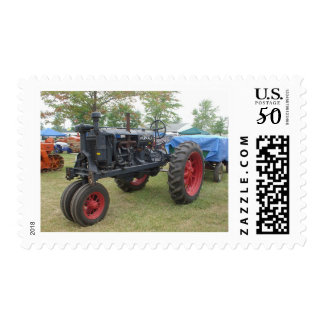 Old Gas Engine Tractor Postage