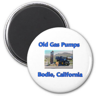 Old Gas Pumps Magnet