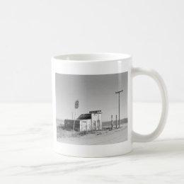 Old Gas Station, 1937 Coffee Mug
