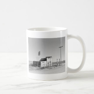 Old Gas Station, 1937 Coffee Mug