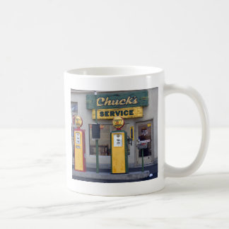 Old Gas Station Coffee Mug