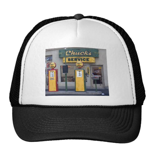 Old Gas Station Trucker Hat