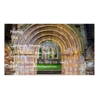 Old Gate In Fountains Abbey Business Card
