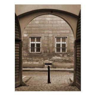old gateway postcard