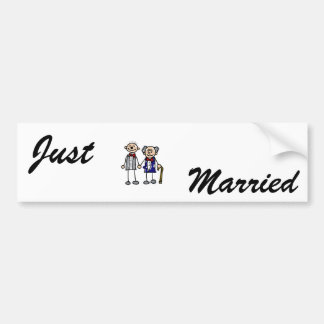 Old Gay Couple Bumper Sticker