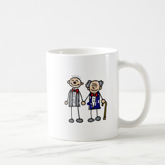 Old Gay Couple Classic White Coffee Mug