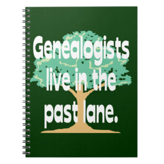 Old Genealogists Never Die Spiral Note Book