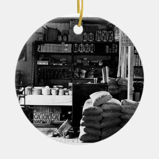 OLD GENERAL STORE CHRISTMAS ORNAMENTS