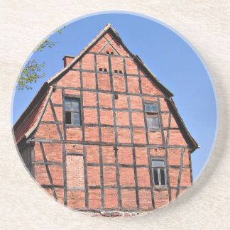 Old German Barn Photograph Drink Coaster