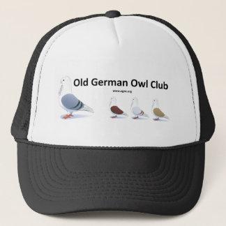 Old German Owl Club Clothing Trucker Hat