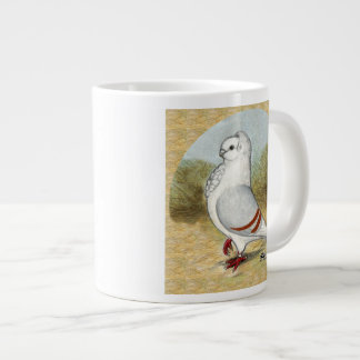 Old German Owl In the Round Extra Large Mugs