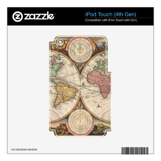 Old global map iPod touch 4G skin