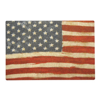 Old Glory American Flag Placemat
