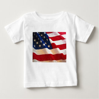 Old Glory American Flag Ripples T Shirts
