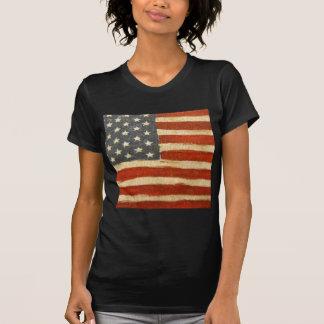 Old Glory American Flag T Shirt