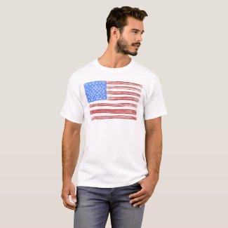 Old Glory American Flag T-Shirt