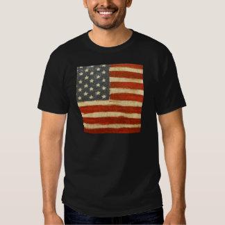 Old Glory American Flag Tee Shirt