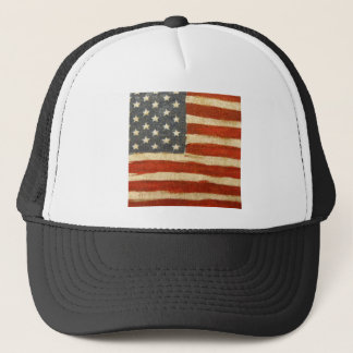 Old Glory American Flag Trucker Hat