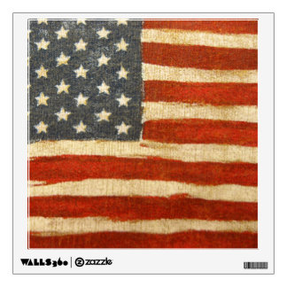 Old Glory American Flag Wall Sticker