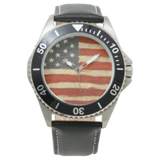Old Glory American Flag Watch
