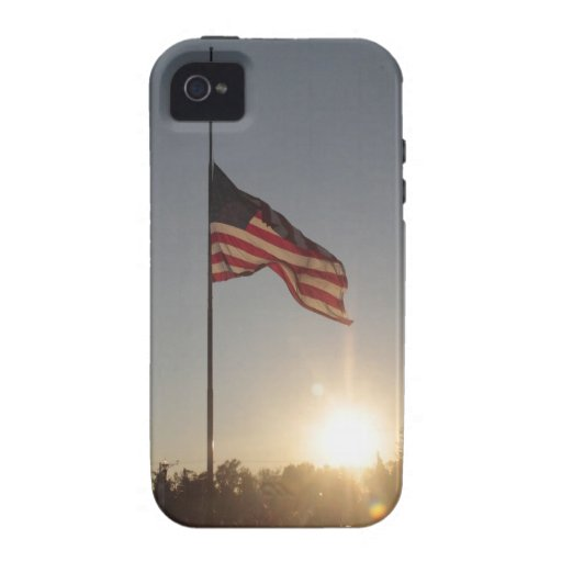 Old glory at Sunset Vibe iPhone 4 Case