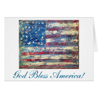 """""""Old Glory"""" by Chris Rice Note Cards"""