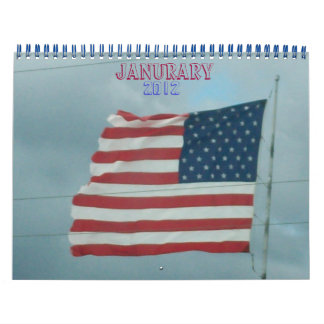 Old Glory & Country Calendar