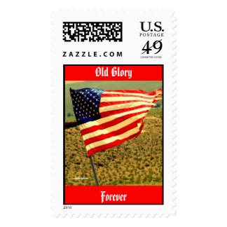 Old Glory Forever Postage Postage Stamps