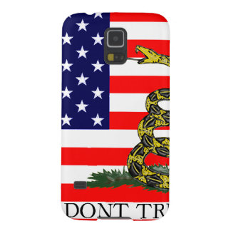 Old Glory / Gadsden Flag Combo Galaxy S5 Cover