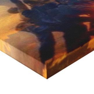 old glory iwo jima canvas print