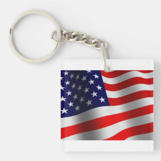 Old Glory Keychain