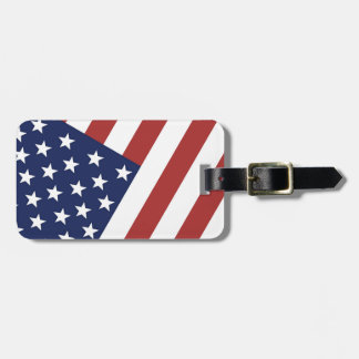 Old Glory Luggage Tag