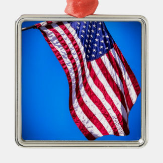 Old Glory Metal Ornament