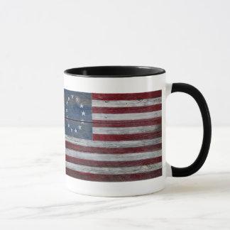 Old Glory Mug (ringer)