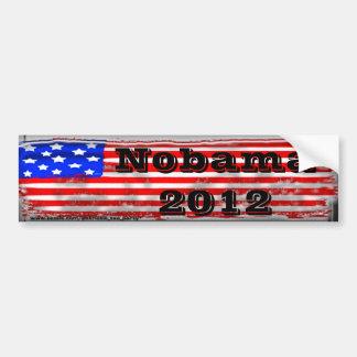 Old Glory Nobama Car Bumper Sticker