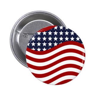 OLD GLORY! (patriotic flag design) ~ Button