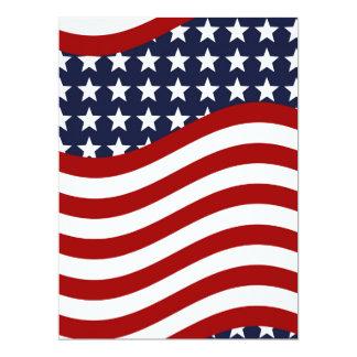 OLD GLORY! (patriotic flag design) ~ Card