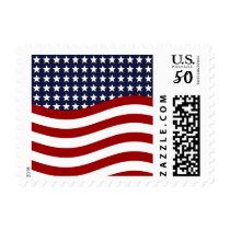 OLD GLORY! (patriotic flag design)  ~.jpg Postage