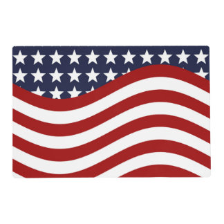 OLD GLORY! (patriotic flag design) ~ Placemat