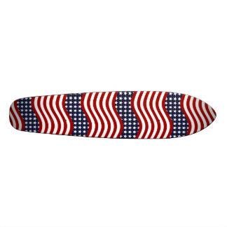 OLD GLORY! (patriotic flag design) ~ Skateboard Deck