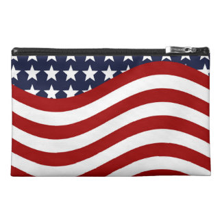 OLD GLORY! (patriotic flag design) ~ Travel Accessory Bags
